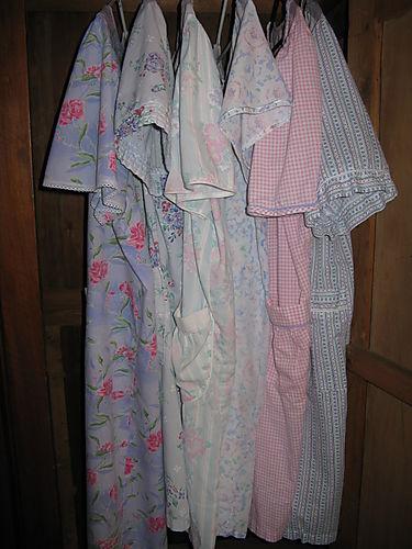 Robes hanging