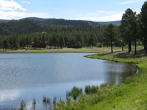 Lake at Angel Fire