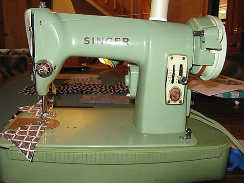 Old Singer Portable Sewing Machine