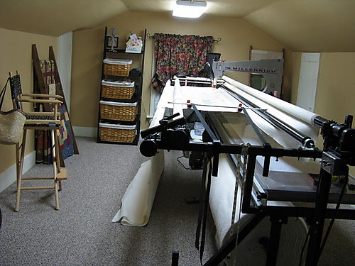 My quilting studio