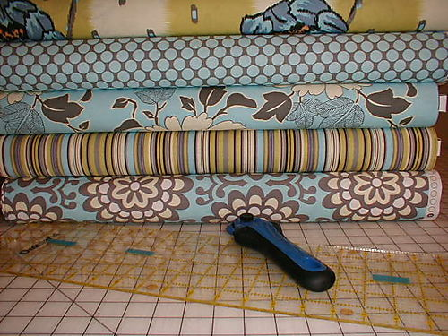 Amy Butler fabric ready to cut