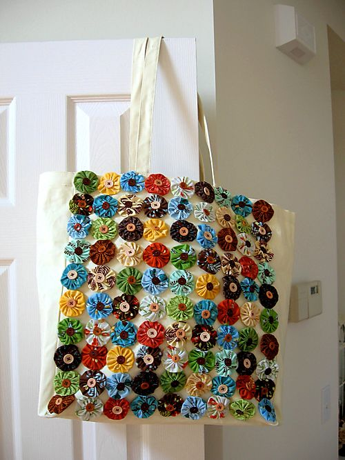 Kim's Yo-Yo Bag on Door