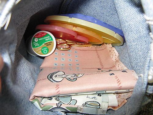 Inside YY bag
