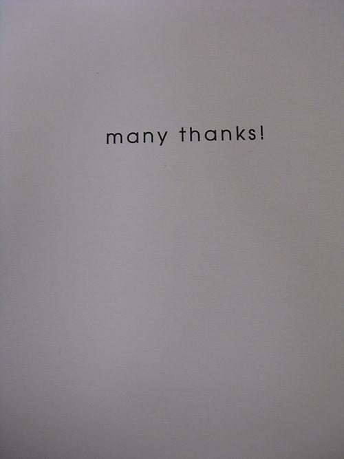 Inside of thank you card for yo yos
