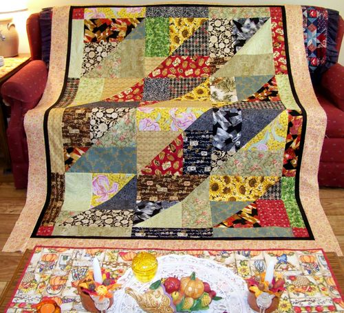 Candace's Twisting Turning Twenty Quilt