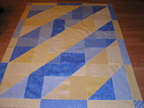 Liz's Twisting Turning Twenty Quilt