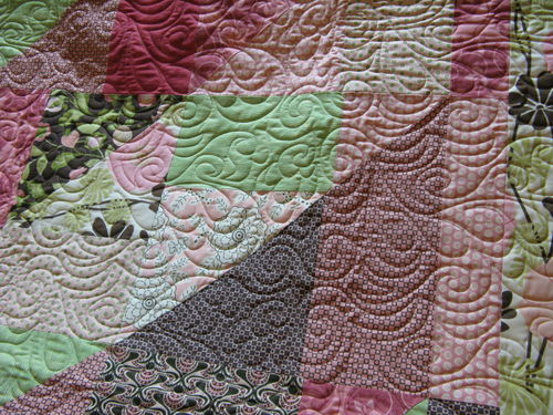 TTT City Girl Close up of quilting
