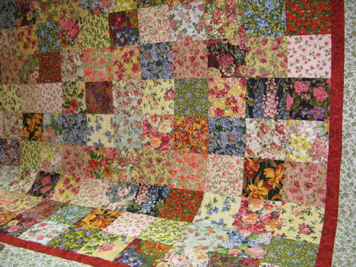 Kity's quilt full view