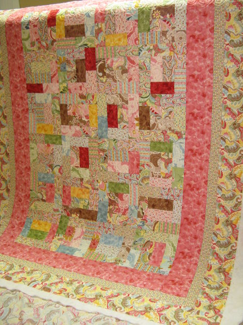 Liz's Pink quilt