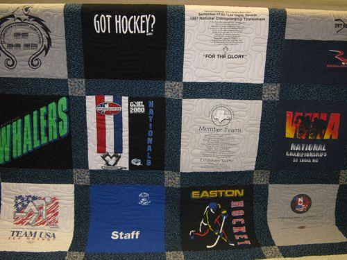 Janie's T-Shirt quilt
