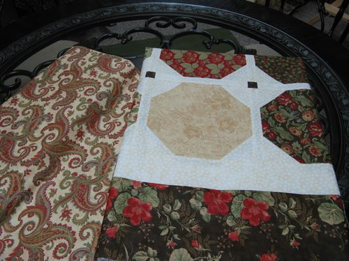 Peace On Earth Layer Cake Quilt