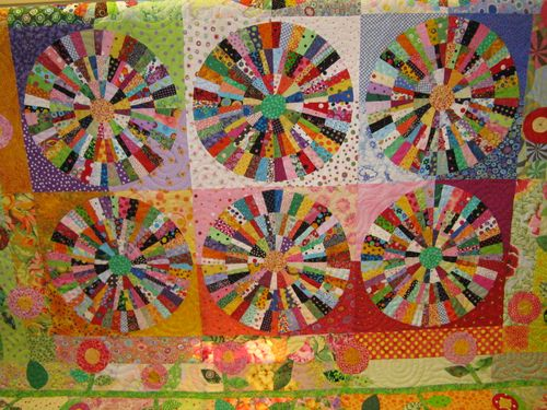 DONNA'S - In The Attic: ~ POLKA DOT QUILT by Faustina Curry ~ : polka dot quilt pattern - Adamdwight.com