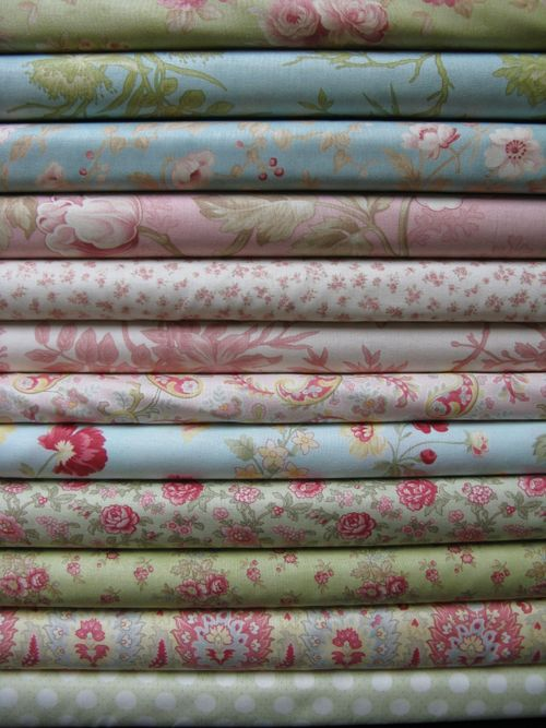 12 fat quarter bundle - 3 Sisters - Simplicity and Aviary