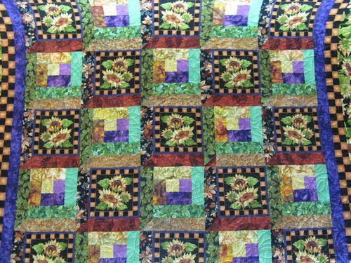Sunflower Quilt full view