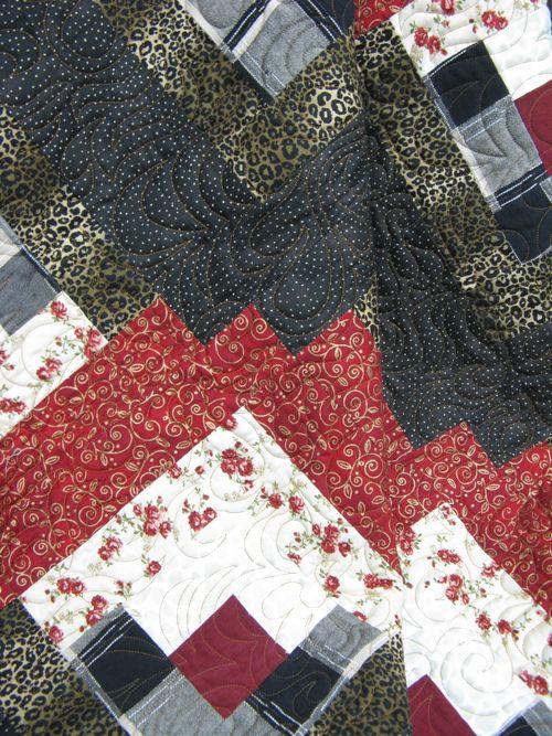 Lisa's quilt closeup