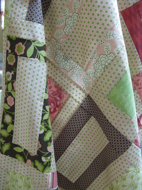 Posh - City Girl quilt Closeup