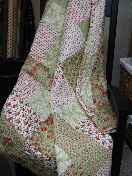 Shangri La Quilt in Rocker