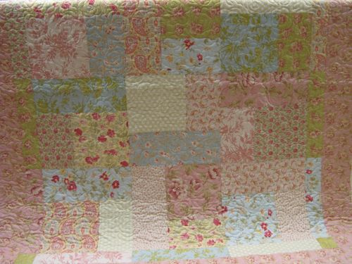 Rose TT quilt 12 block for sale