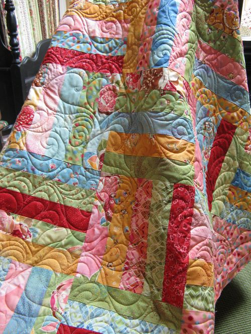 Boutique Quilted closeup