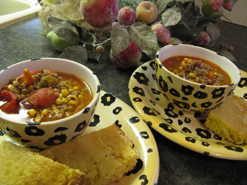 Soup and Cornbread 2
