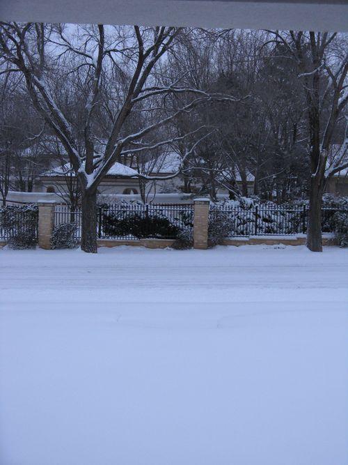 Twelve Inches of Snow