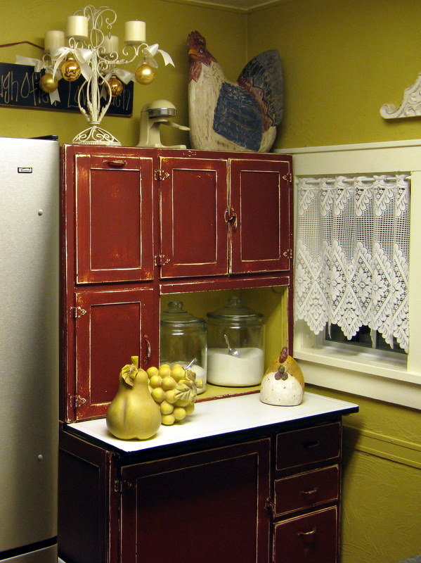 Donna S In The Attic Hoosier Cabinet