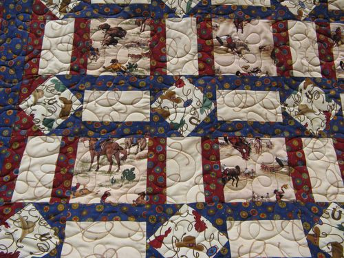 Donnas In The Attic Western Quilt By
