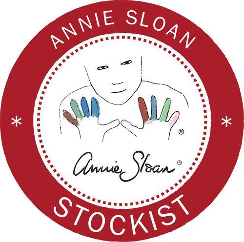 Annie Sloan - Stockist logo - Emperor's Silk