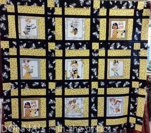 Bee Happy Quilt final
